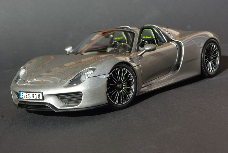 minichamps porsche 918 spyder production version de porsche ruf. Black Bedroom Furniture Sets. Home Design Ideas