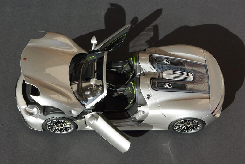 minichamps porsche 918 spyder production version de porsche ruf. Black Bedroom Furniture Sets. Home Design Ideas